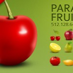 Paradise Fruits Icon Set